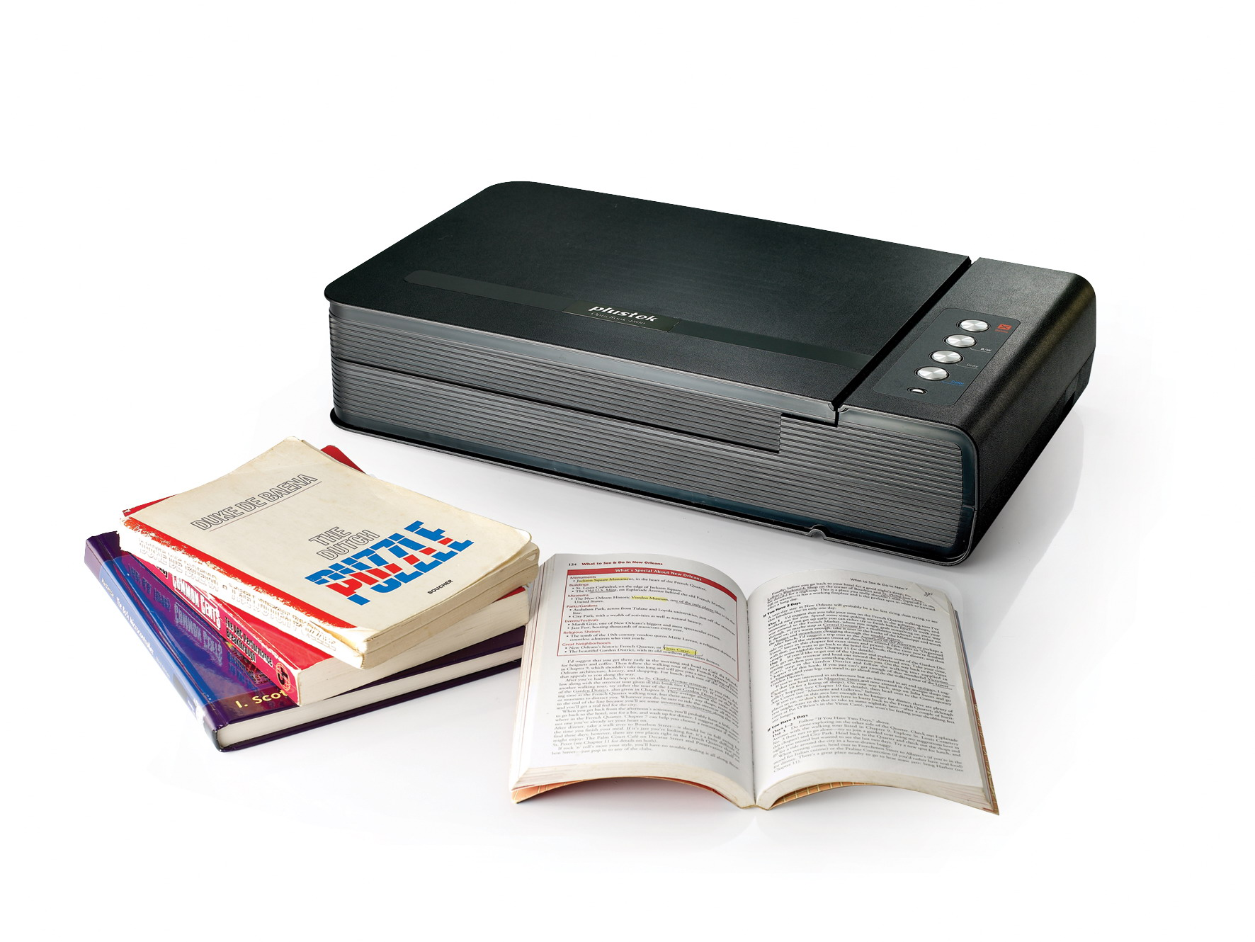Scanner plustek optic book ob4800