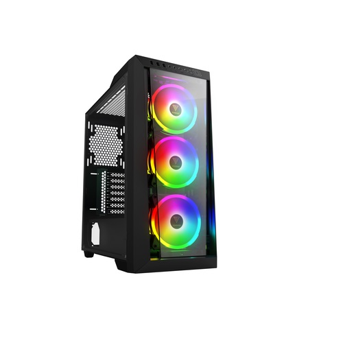 Gamdias case talos m1 lite mid tower 3 argb fan 120mm vetro temperato