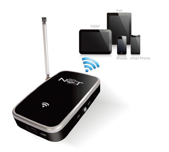 NOT ONLY PC WiFi TV MOBILE RECEIVER PER TABLET & CELLULARI