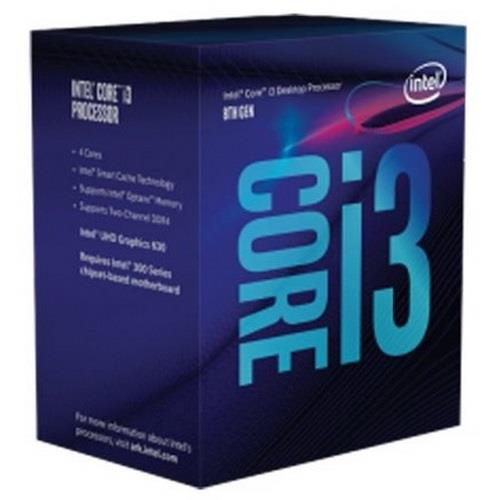 CPU i3-8100 3.6GHz 6M BOX LGA 1151 COFFEE LAKE