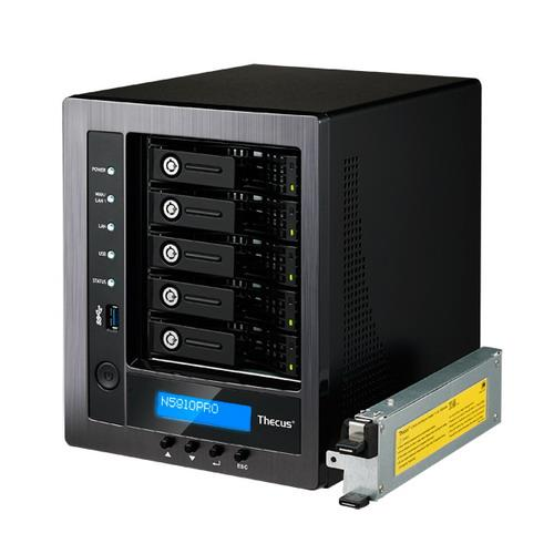 THECUS NAS PMI - TOWER 5BAY con Mini-UPS integrato