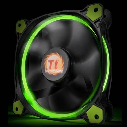 THERMALTAKE VENTOLA CASE RIING 12 GREEN