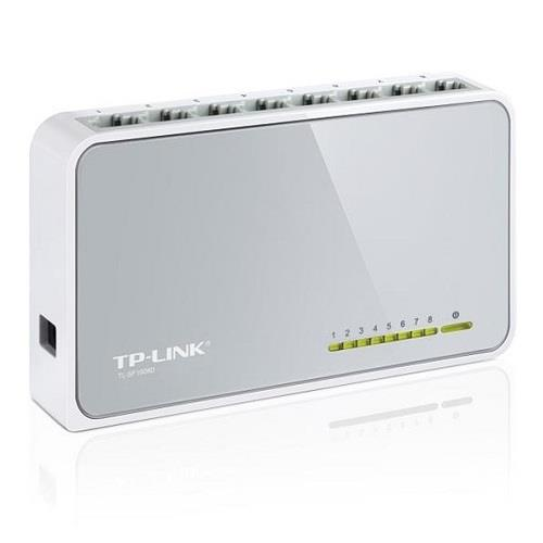 TP-LINK 8 PORTE 10-100 MINI SWITCH